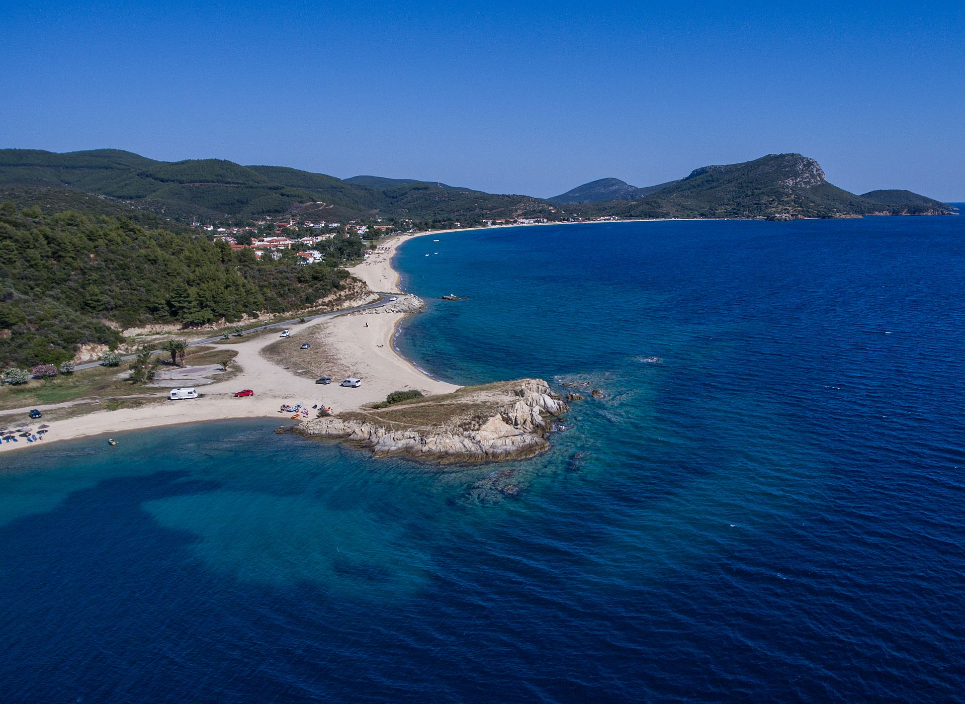 toroni halkidiki the beach